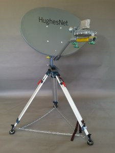 The RTC tripod kit is the first ever to support Ka-band satellite service.