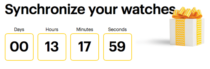 Sprint Countdown