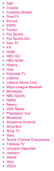 The list of services you can stream on T-Mobile without using any data keeps getting longer.