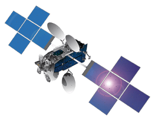 The ViaSat-1 satellite currently in orbit powers the residential Exede satellite internet service.