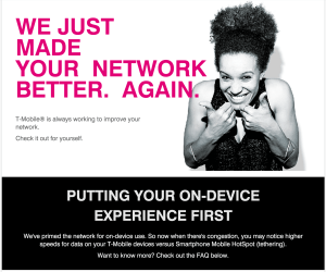 """Better"" - unless your primary usage of your T-Mobile plan is for tethering, that is."