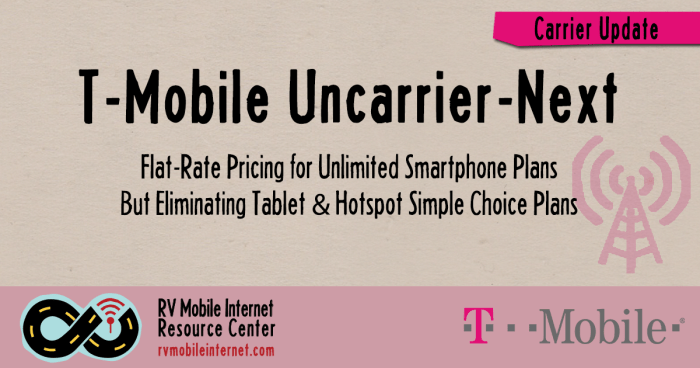 t mobile uncarrier next includes taxes fees drops simple choice tablet hotspot options