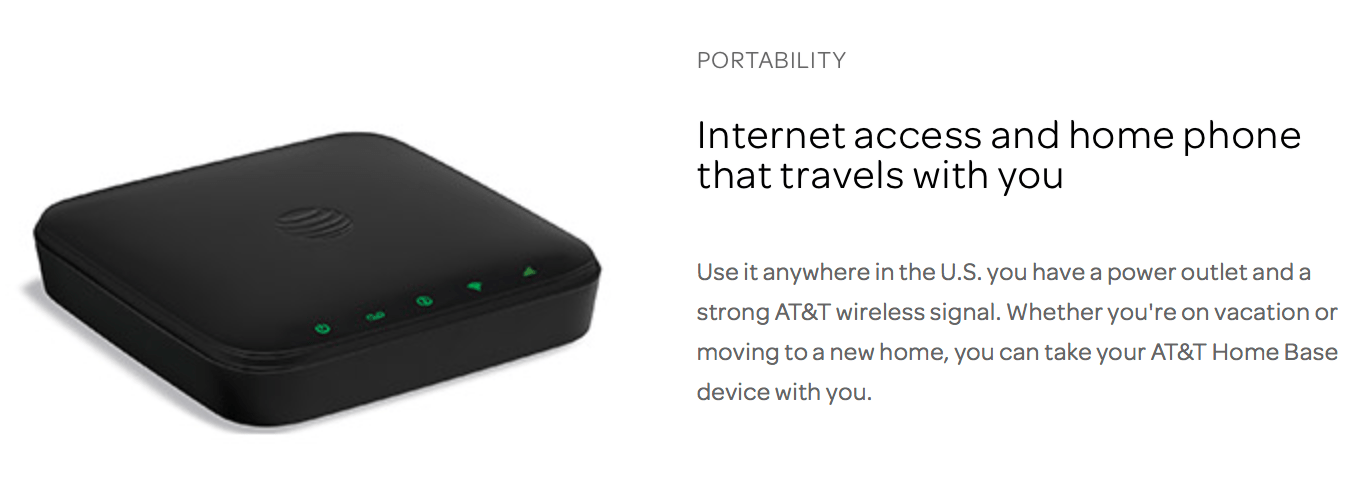 AT&T's Wireless Home Phone & Internet Rural Plan - 250GB ...
