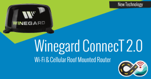 Now Shipping: Winegard ConnecT 2.0 Roof-Mounted Wi-Fi & Cellular Router 1