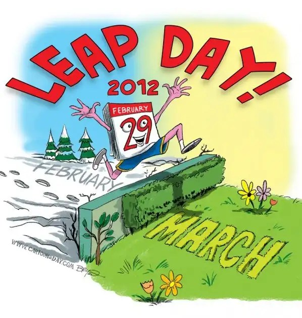 Happy leap day to everyone out there who felt like…