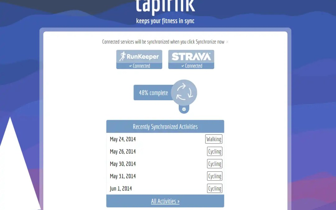 Tapiriik – Awesome System for Linking Health Apps