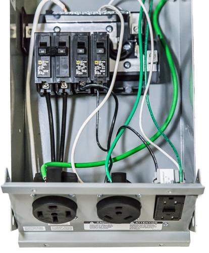rv 50 amp fuse box  wiring diagrams options bareversion