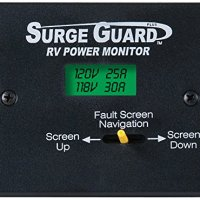 Technology Research (40300) Remote Power Monitor LCD Display with 50' Cord