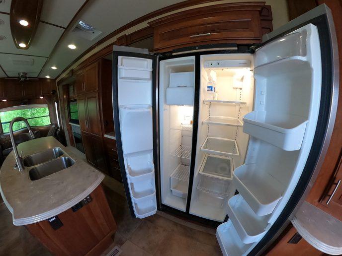 Rental Trailer full size fridge