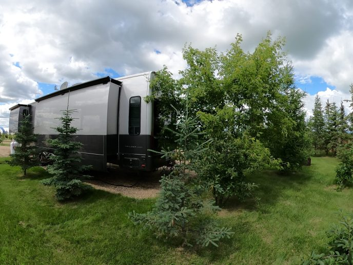 Rental Trailer-back-yard-view