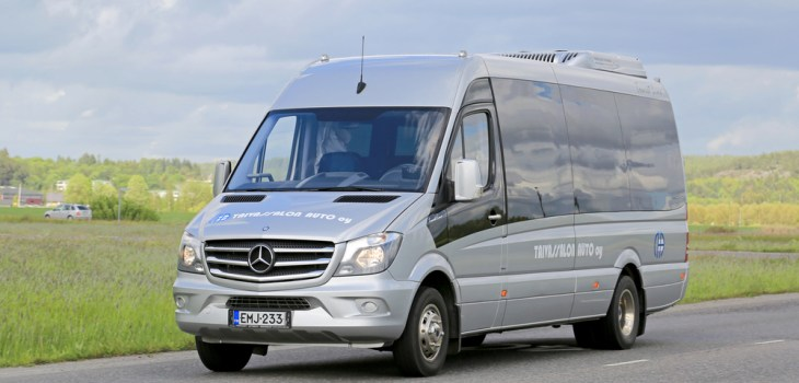 Rent a Mercedes Sprinter RV Van