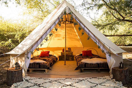 Coachella Glamping Packages 2017