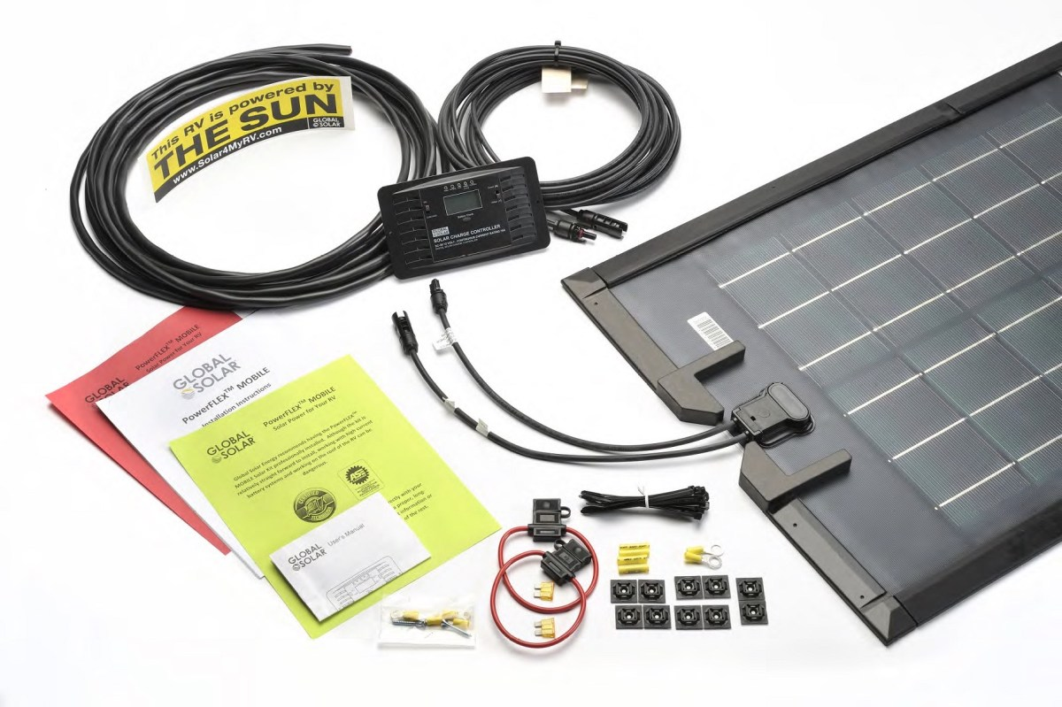 Powerflex 100w Rv Solar Kit Rv Solar Systems Online