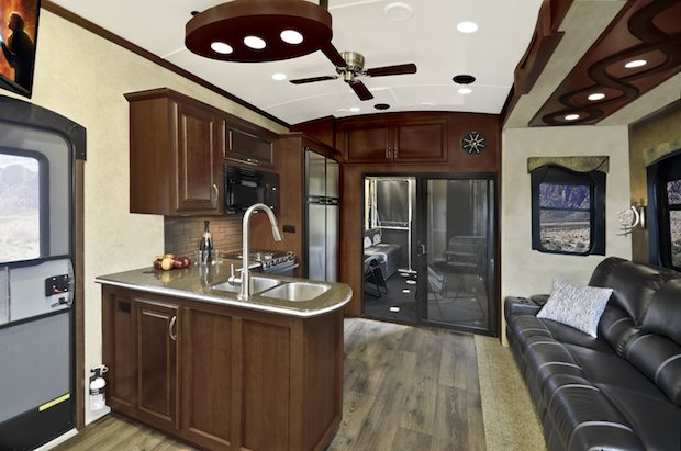 EverGreens New Tesla Brings Luxury To 5th Wheel Toy