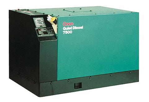 Onan 7500 Watt Quiet Power Diesel Generator
