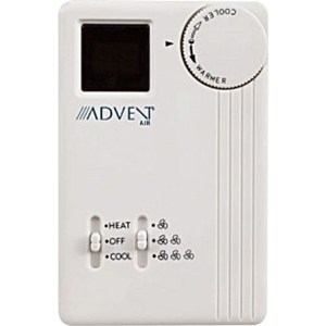 Advent Air ACTH11 Analog Air ConditionerFurnace Thermostat