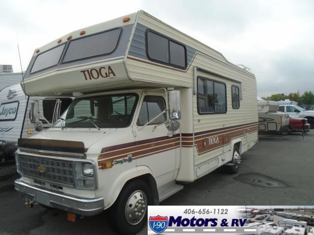 Throwback Thursday Vintage RV: 1982 Fleetwood Tioga - RV Lifestyle