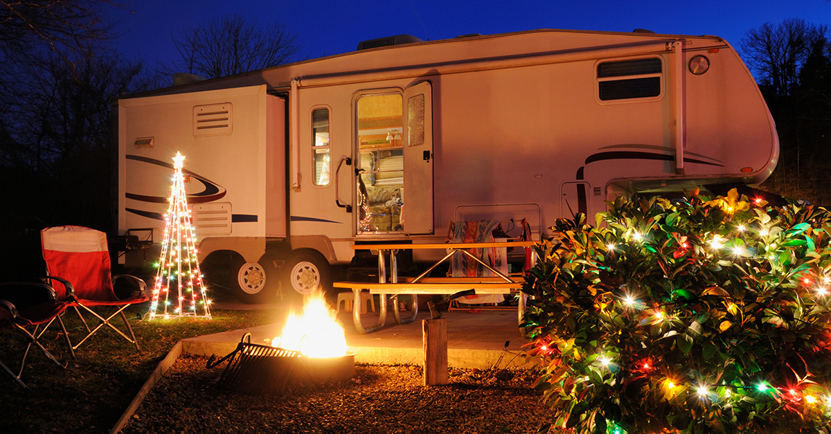 Christmas Lights For Camping.7 Ways To Still Have A Christmas Tree While Rving Rv