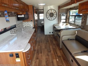 2017 Jayco Precept 35S front to rear view