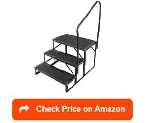 10 Best Rv Steps Reviewed And Rated In 2020 Rv Web Network | Portable Stairs With Handrail | Chair | Plastic Portable | Camper | Wall Mounted | Ladder