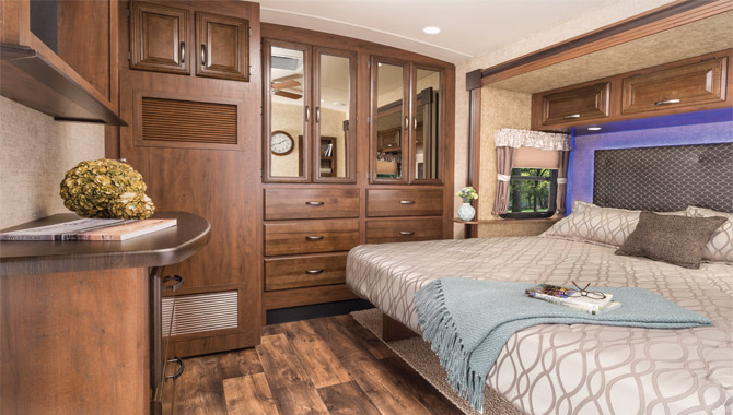 These bedroom cleaning tips from clean sweep will keep your home clean. Rv Floor Plans Two Queen Beds Layout Rv Wholesale Superstore