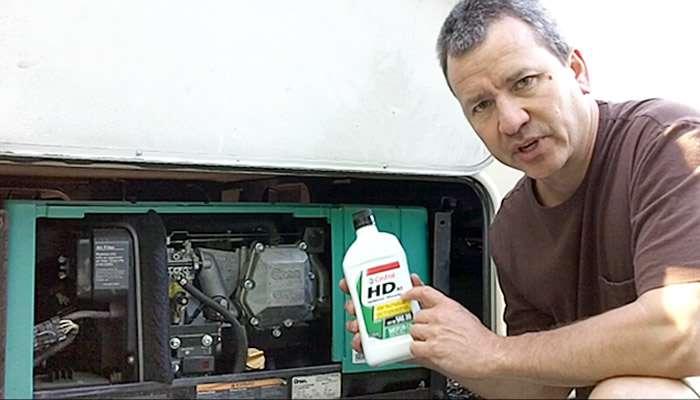 How To – Onan Generator Oil Change