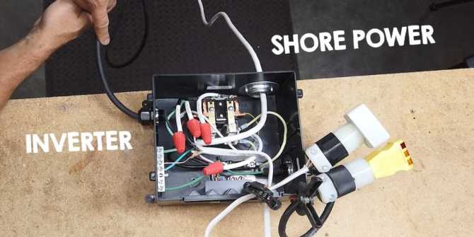 how to safely install an inverter for ac power offthegrid