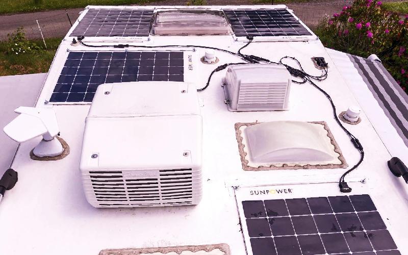 170 watt SunPower flexible solar panels