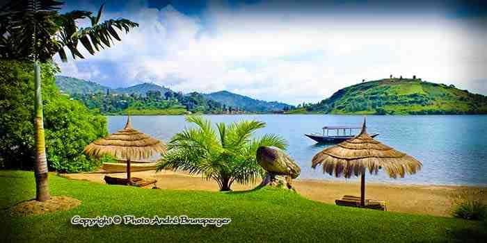 Lac Kivu, plage du Serena - Circuit safari 8 jours Rwanda