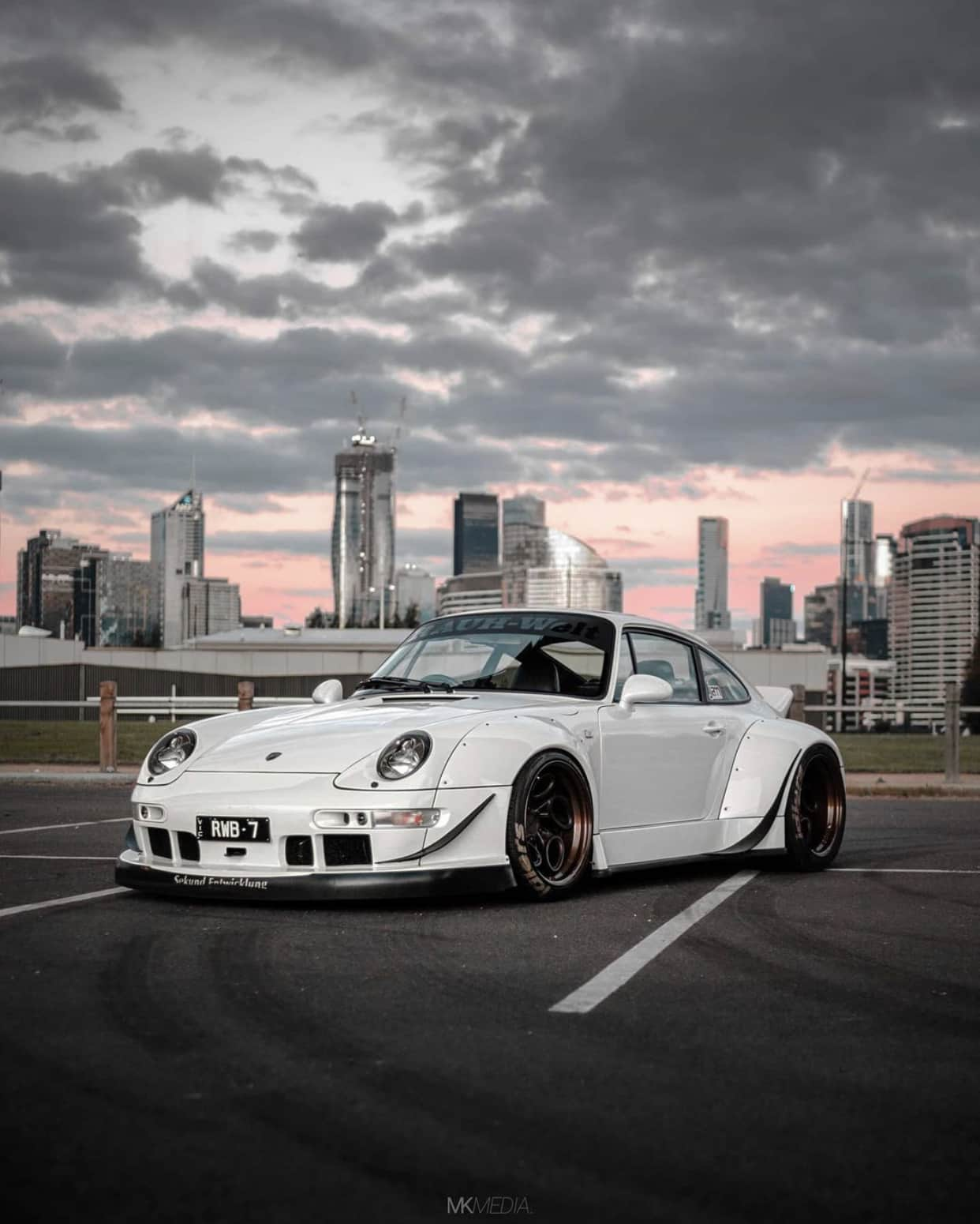 Australia's RWB Number #7 – Hanzō, the sleek RWB 993