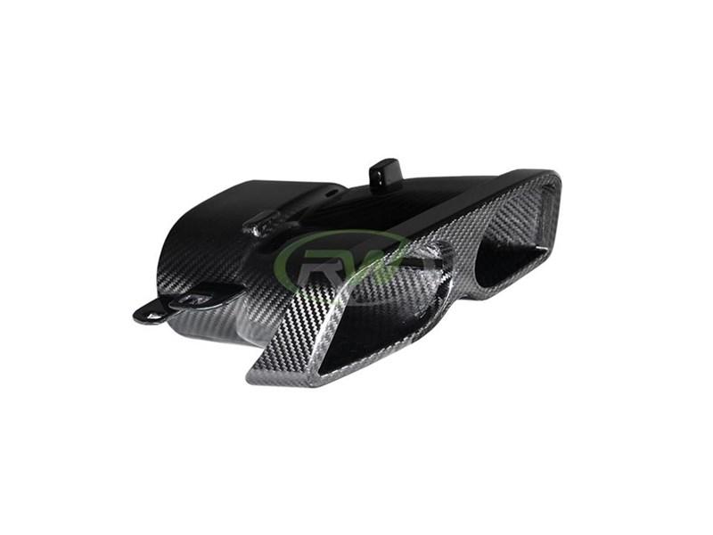 mercedes w205 w212 carbon fiber exhaust tips