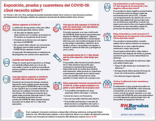 COVID-19 Exposure, Testing, and Quarantine: What Do I Need to Know?