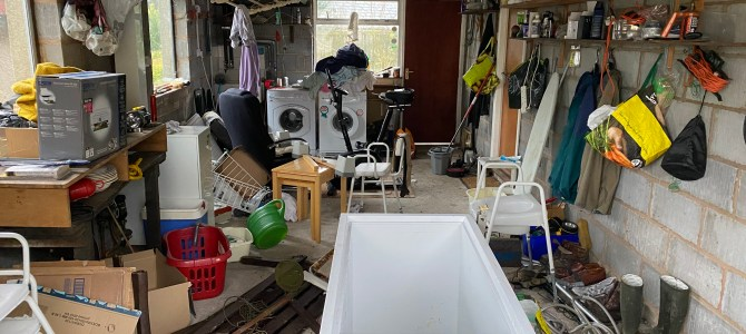 House Clearance Clitheroe BB7 Case Study