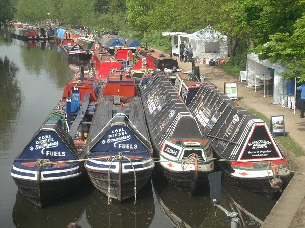 Rickmansworth Festival boats