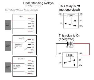 Power window relays: 4 post vs 5 post?  RX7Club  Mazda RX7 Forum