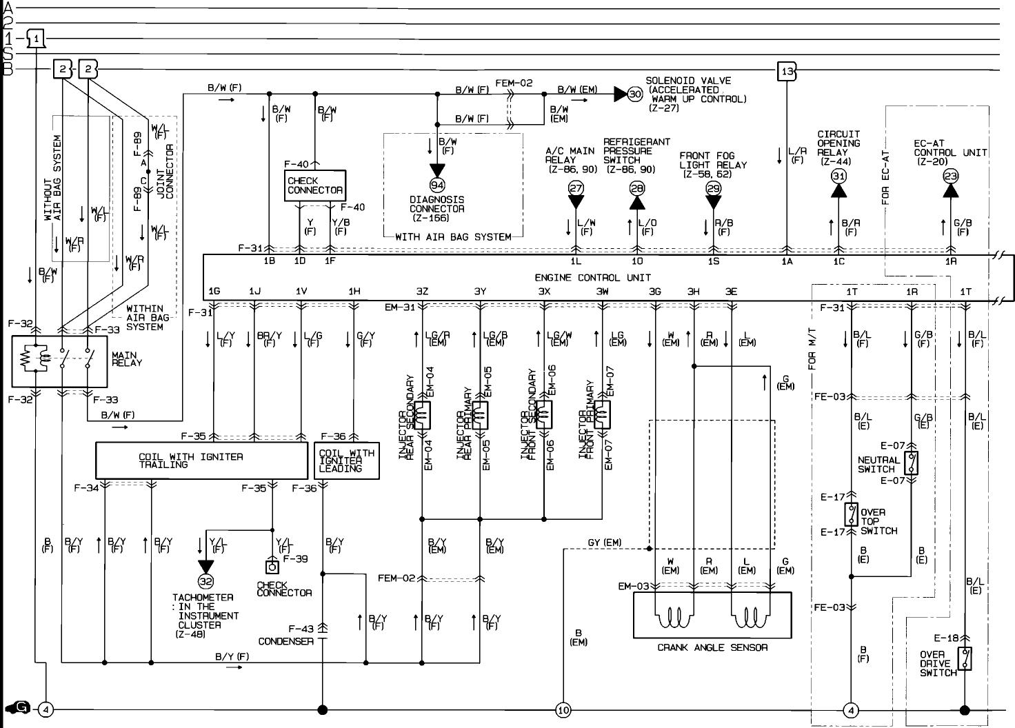 S5 Ecu Wirring Diagram Color Coded
