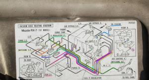 Vacuum Hose Diagram for 1987 Mazda RX7 Turbo II?  RX7Club  Mazda RX7 Forum