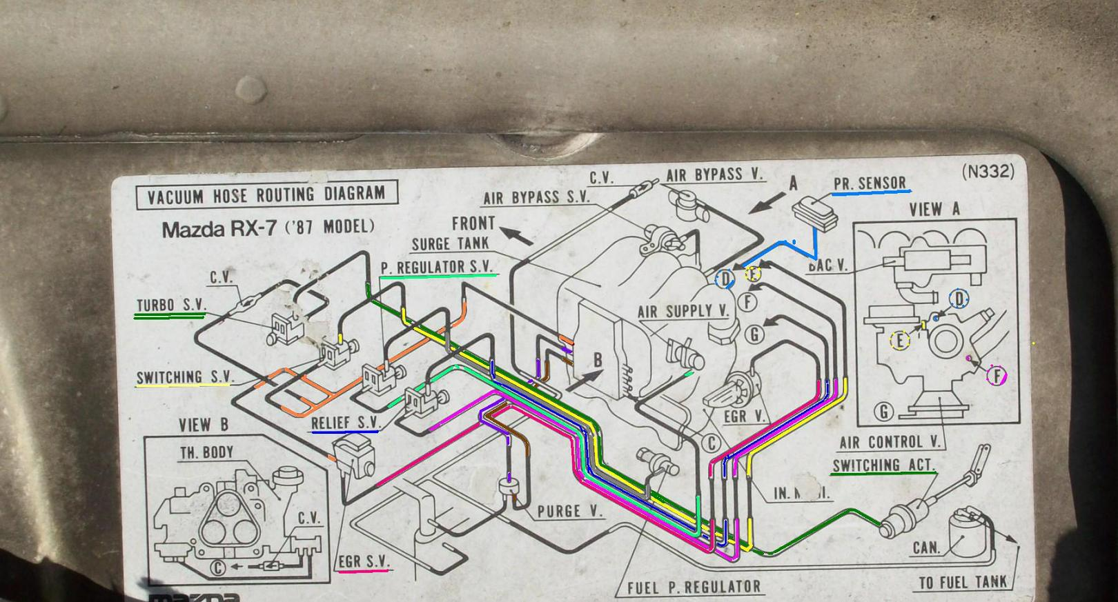 1989 Mazda B2200 Carburetor Diagram Engine Routing Vacuum Hose Turbo Ii Coloredtwo 1620x873
