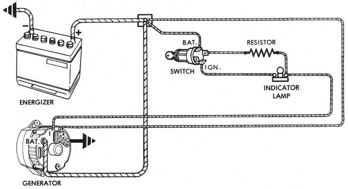 1995 Ford Truck Alternator Diagram