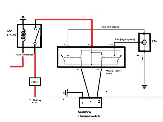 lincoln mark viii fan wiring schematic