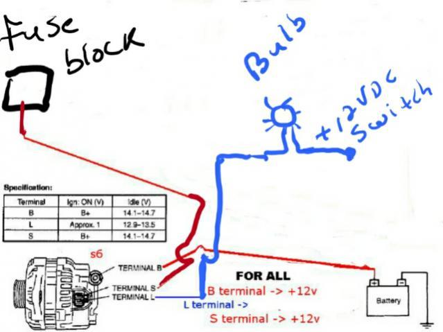 Fd Alternator Wiring