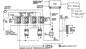 Coolant Recall Fan Controller SchematicLocation  RX7Club