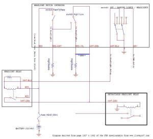 Headlight wiring mod: low beams  high beams  RX7Club
