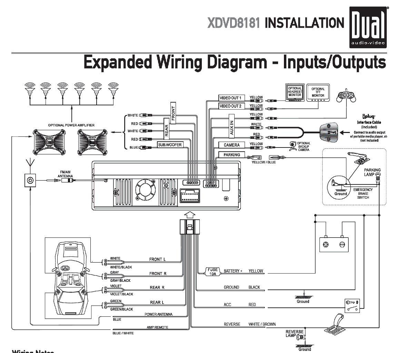 Dual Car Stereo Wiring Diagram - Wiring Diagram 2017
