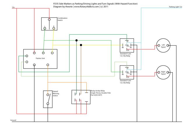 Awesome Turn Signal Flasher Wiring Diagram Images Images for – Turn Signal Flasher Wiring Diagram