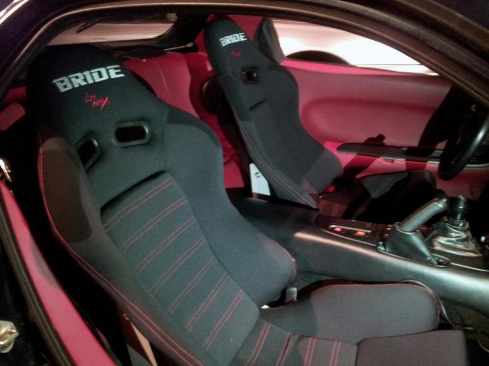 Bride Gias Low Max Seats Mazda RX7 Forum