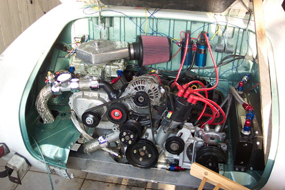 Supercharged 13b In Karmann Ghia