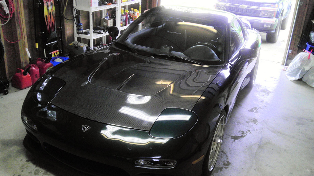 Review Ronin Speedworks Mazdaspeed Carbon Hood Rx7club