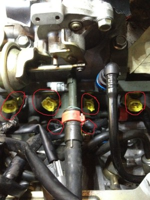 Wiring Harness for Fuel Injector Hookup  RX8Club