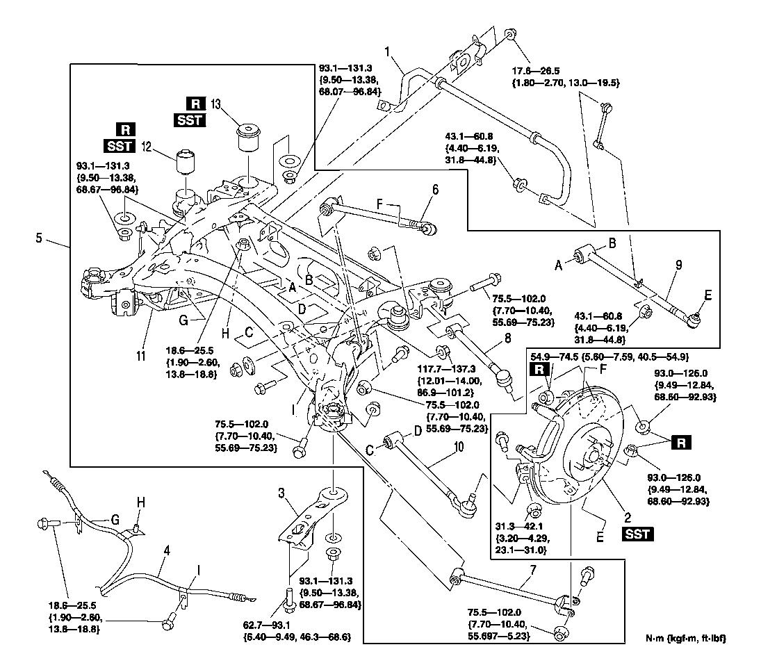 Rear too low stock spring koni shock wtf 131498 saab 9 5 engine diagram at